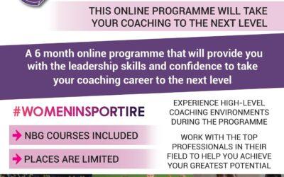 Women in Sport Leadership Programme 2021 / 2022